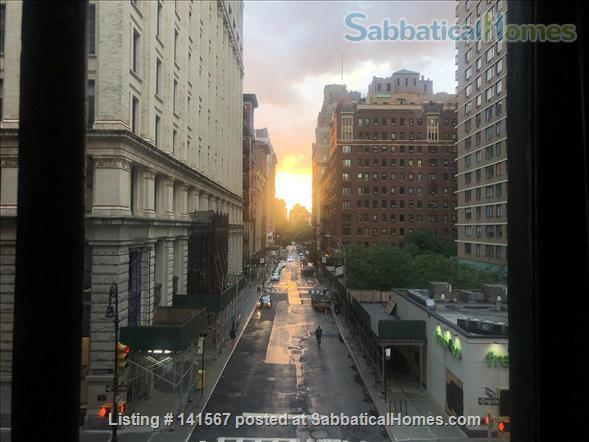 Unique 1BR loft apartment w/large outdoor terrace - across from NYU Home Rental in New York 7