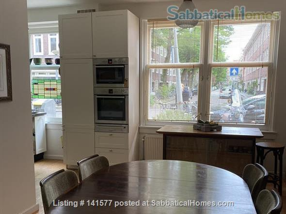 Welcoming Amsterdam apartment with a garden house study. Home Exchange in Amsterdam, NH, Netherlands 0