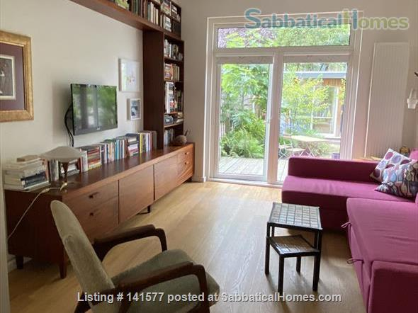 Welcoming Amsterdam apartment with a garden house study. Home Exchange in Amsterdam, NH, Netherlands 2