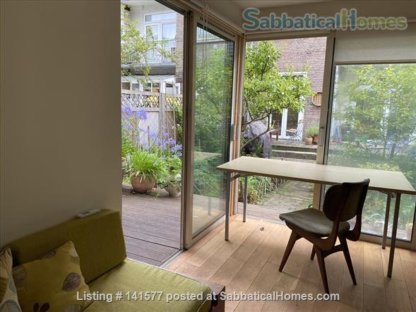 Welcoming Amsterdam apartment with a garden house study. Home Exchange in Amsterdam, NH, Netherlands 6