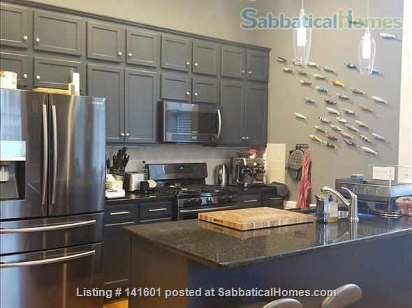 Fully-Furnished 2 BR 2 BA  Duplex Condo Walkable to Yale Home Rental in New Haven, Connecticut, United States 0