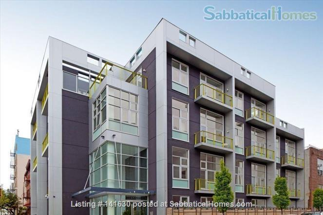 Modern, sun filled  studio plus loft in the heart of Williamsburg w/ Gym, Roof Deck, Balcony Home Rental in Southside, New York, United States 9