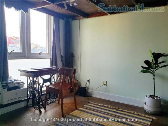 Modern, sun filled  studio plus loft in the heart of Williamsburg w/ Gym, Roof Deck, Balcony Home Rental in Southside, New York, United States 0