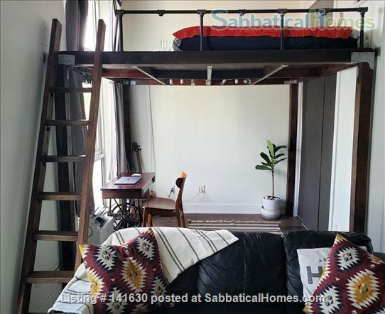 Modern, sun filled  studio plus loft in the heart of Williamsburg w/ Gym, Roof Deck, Balcony Home Rental in Southside, New York, United States 2