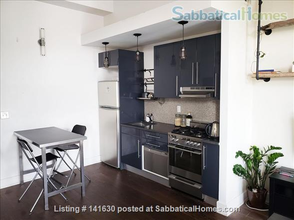 Modern, sun filled  studio plus loft in the heart of Williamsburg w/ Gym, Roof Deck, Balcony Home Rental in Southside, New York, United States 3