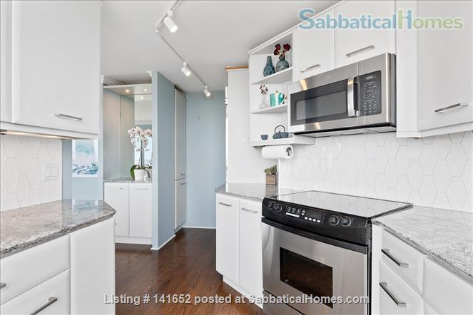 35th floor with unobstructed, sweeping 270+ degree views of the city and lake Home Rental in Chicago, Illinois, United States 4