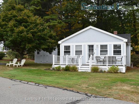 Fresh, Bright, Fully Winterized Cottage: Fall/Winter Respite, Ogunqit ME Home Rental in Ogunquit, Maine, United States 0