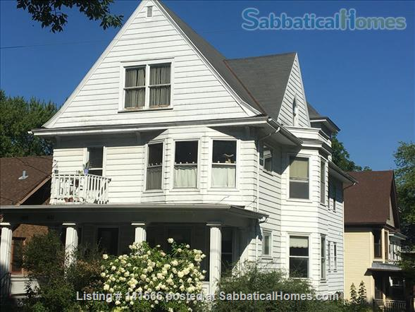 Sunny, Historic 3 Bedroom on Park Home Rental in Madison, Wisconsin, United States 1