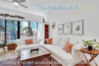 Sunny Spacious Work From Home in Modern Chelsea Townhouse Home Rental in New York, New York, United States 1