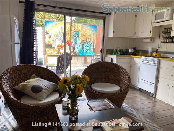Adorable Orange County fully furnished guest house in perfect location Home Rental in Fullerton, California, United States 1