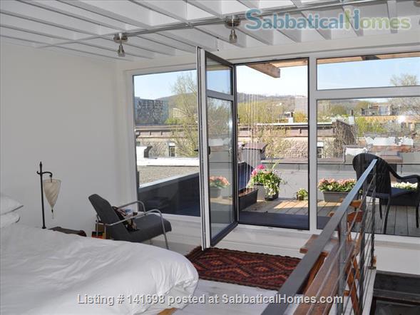 Luminous Loft Home Rental in Montreal, Quebec, Canada 0