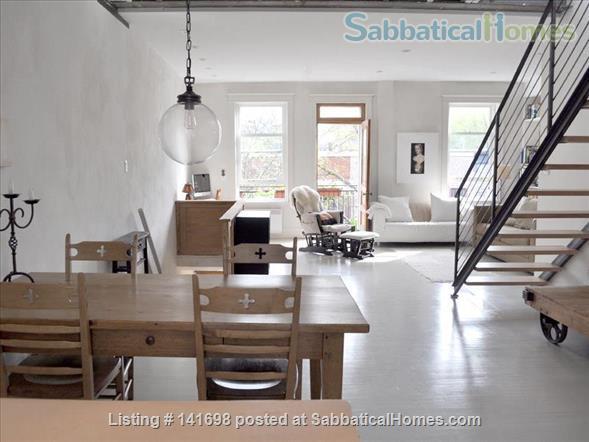 Luminous Loft Home Rental in Montreal, Quebec, Canada 4