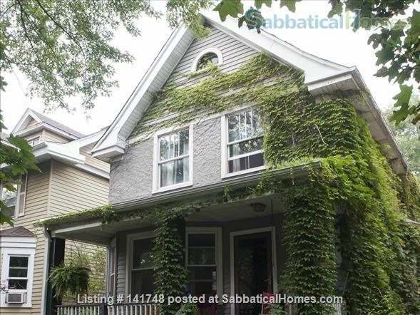 Beautiful Victorian with Old Growth Forest Backyard and Garden Home Rental in Chicago, Illinois, United States 1