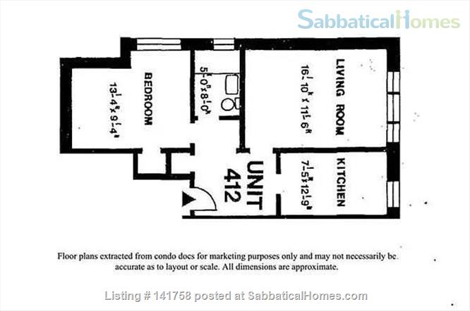 1 Bedroom Condo near Harvard and MIT Home Rental in Cambridge, Massachusetts, United States 0
