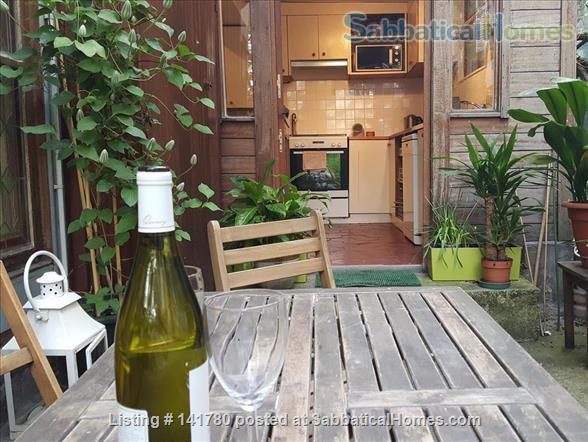 Central and Spacious Paris House Home Rental in Paris, IDF, France 1