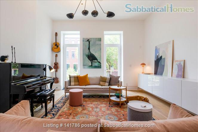 Lovely townhouse in upper manhattan Home Rental in New York, New York, United States 1