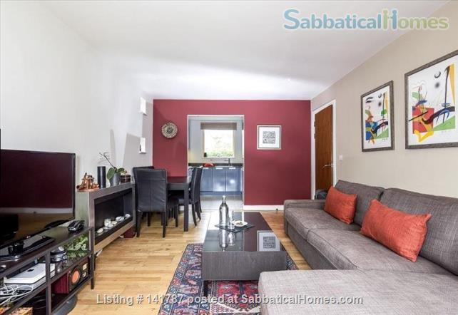 Modern two-bedroom flat in North Oxford Home Rental in Oxford, England, United Kingdom 2