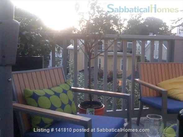 Cambridge Victorian 2 family, listing for mansard unit with deck Home Rental in Cambridge, Massachusetts, United States 0