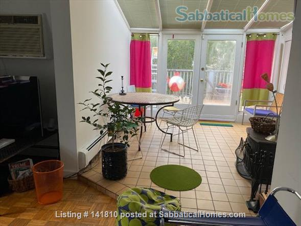 Cambridge Victorian 2 family, listing for mansard unit with deck Home Rental in Cambridge, Massachusetts, United States 2