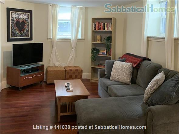 Garden level studio apartment (2 rooms) Home Rental in Somerville 1 - thumbnail