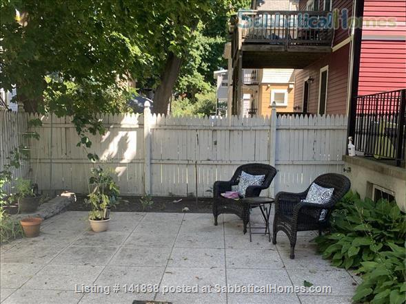 Garden level studio apartment (2 rooms) Home Rental in Somerville 3 - thumbnail