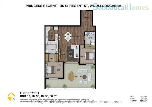 Spacious Large Apartment- -Ideally located Home Rental in Woolloongabba, QLD, Australia 9