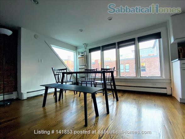 Penthouse 2br condo w/ skylights Home Rental in Boston, Massachusetts, United States 1