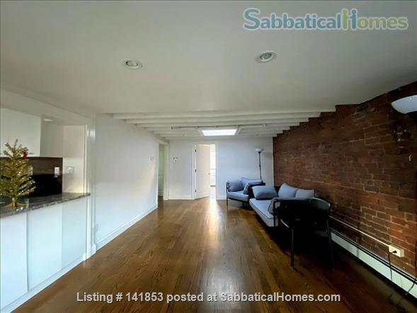 Penthouse 2br condo w/ skylights Home Rental in Boston, Massachusetts, United States 0