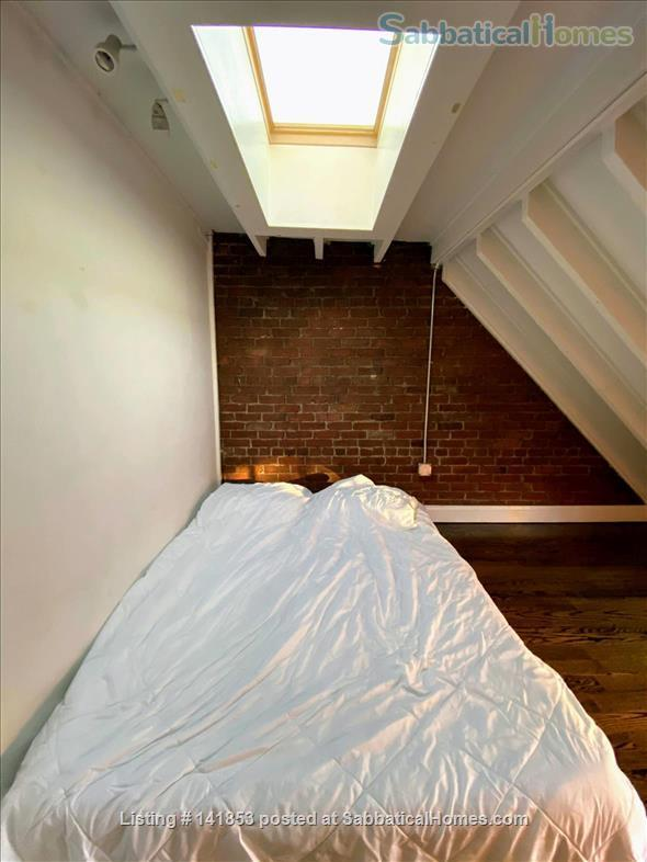 Penthouse 2br condo w/ skylights Home Rental in Boston, Massachusetts, United States 4
