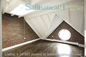 Penthouse 2br condo w/ skylights Home Rental in Boston, Massachusetts, United States 5