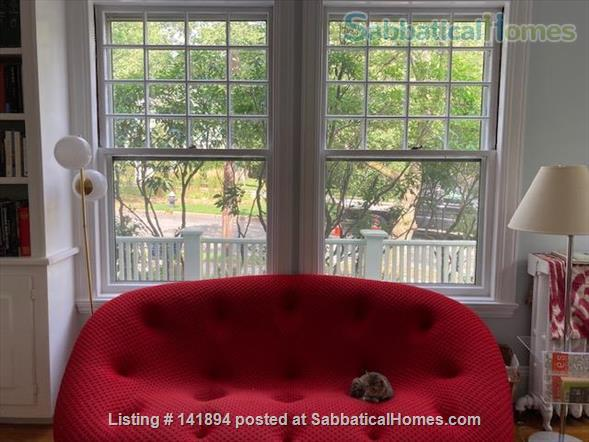 4 BR Beautiful, historic home in leafy Brookline, close to T Home Rental in Brookline, Massachusetts, United States 2
