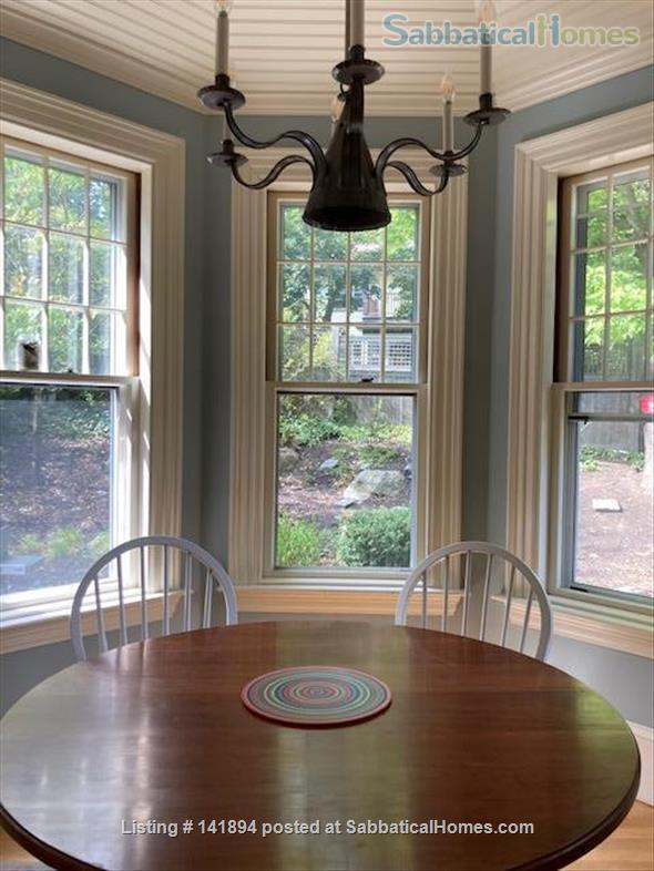 4 BR Beautiful, historic home in leafy Brookline, close to T Home Rental in Brookline, Massachusetts, United States 3
