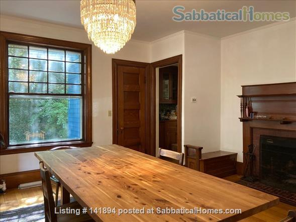 4 BR Beautiful, historic home in leafy Brookline, close to T Home Rental in Brookline, Massachusetts, United States 4