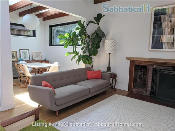 3-BR Home Nestled in Historic Laurel Canyon (Hollywood Hills) Home Rental in Los Angeles, California, United States 1