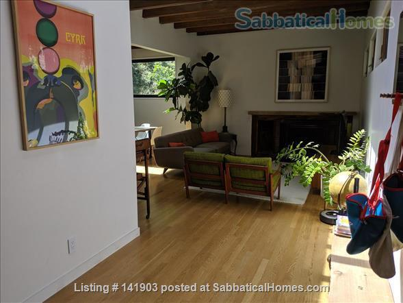 3-BR Home Nestled in Historic Laurel Canyon (Hollywood Hills) Home Rental in Los Angeles, California, United States 2