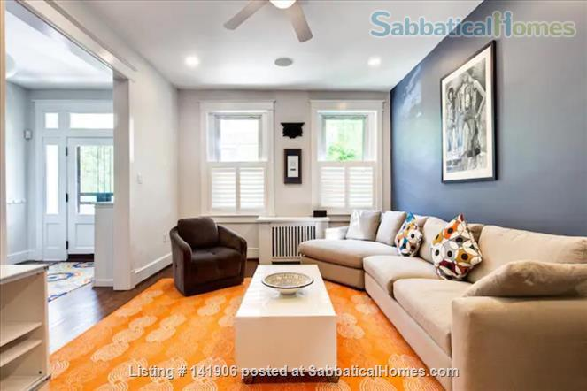 Large family-friendly 3+BR home in heart of DC, by metro, hospitals Home Rental in Washington, District of Columbia, United States 1