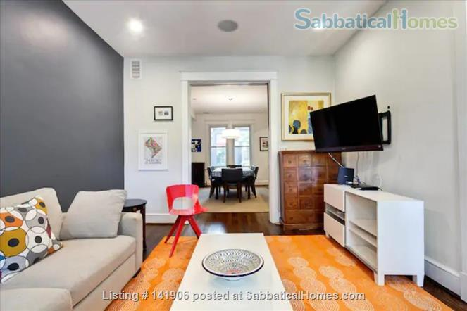 Large family-friendly 3+BR home in heart of DC, by metro, hospitals Home Rental in Washington, District of Columbia, United States 0