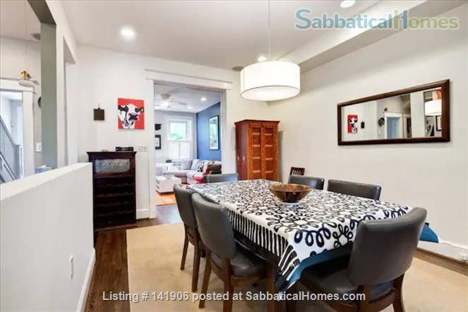 Large family-friendly 3+BR home in heart of DC, by metro, hospitals Home Rental in Washington, District of Columbia, United States 2