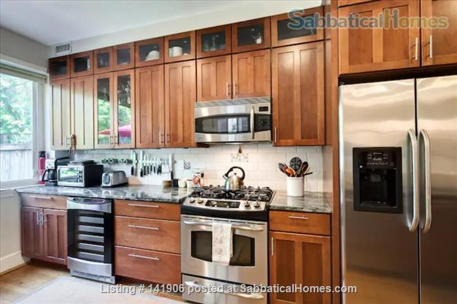 Large family-friendly 3+BR home in heart of DC, by metro, hospitals Home Rental in Washington, District of Columbia, United States 3