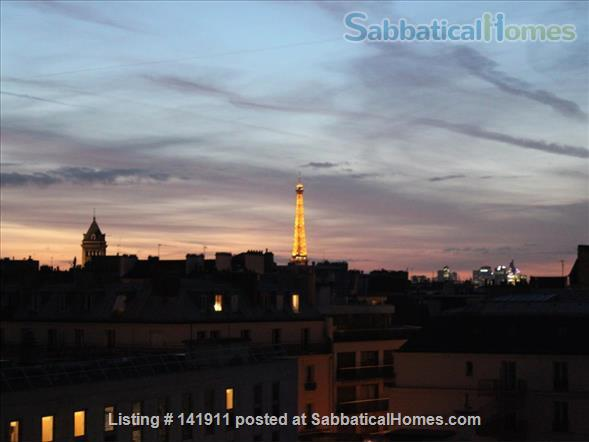 Beautiful view on Eiffel tower- 6th arrondissement (Luxembourg) Home Rental in Paris, IDF, France 0