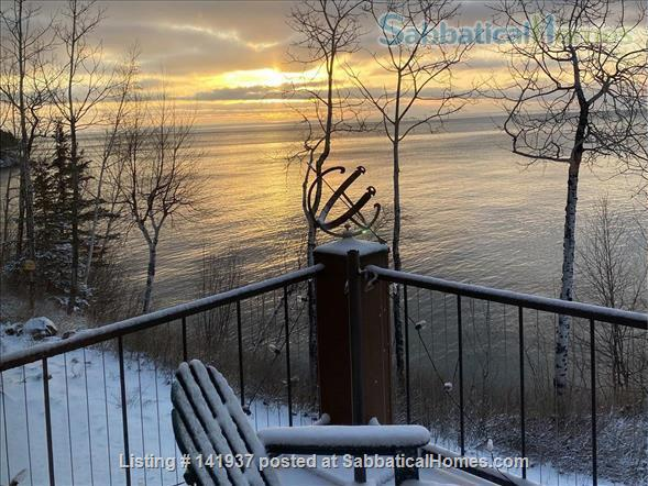 A Hiking/Ski Retreat on the Shore of Lake Superior Home Exchange in Tofte, Minnesota, United States 6