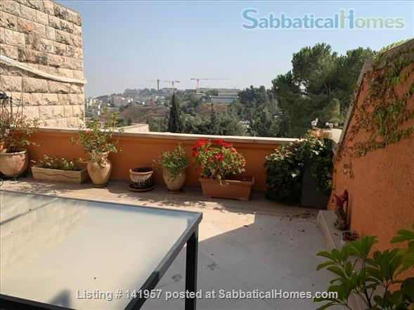 Beautiful and spacious apartment, in the French Hill,  near Hebrew U Home Rental in Jerusalem, , Israel 2