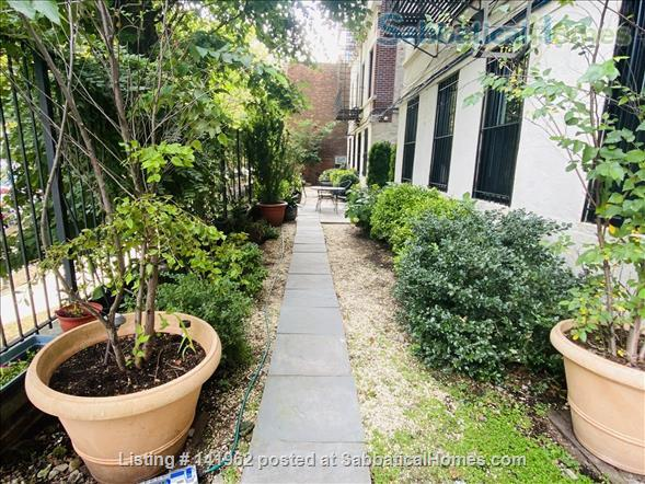 A beautiful garden oasis apartment in the heart of Manhattan Home Rental in New York, New York, United States 1