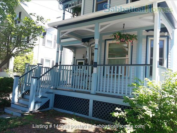 Peace & Quiet  on Cambridge/Somerville line Home Rental in Somerville, Massachusetts, United States 1