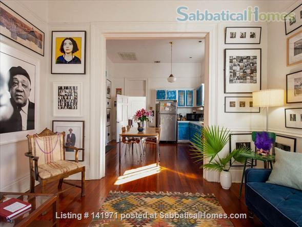 Artistic, Bright Open 1 Bedroom Apt Fully Furnished Oak Tree Lined Street Home Rental in New Orleans, Louisiana, United States 1