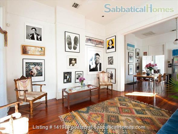 Artistic, Bright Open 1 Bedroom Apt Fully Furnished Oak Tree Lined Street Home Rental in New Orleans, Louisiana, United States 2