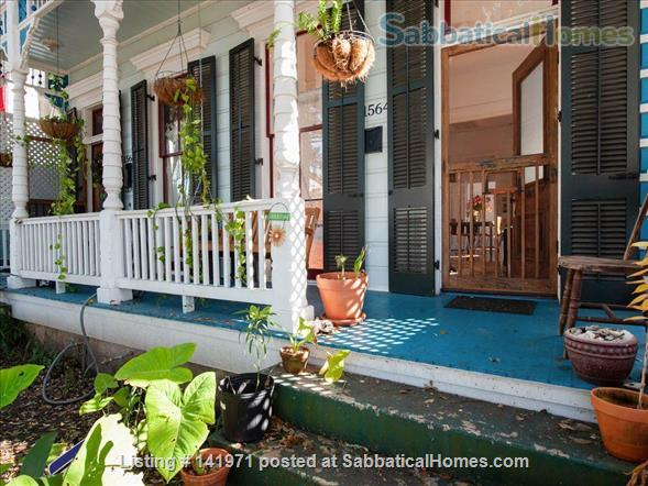 Artistic, Bright Open 1 Bedroom Apt Fully Furnished Oak Tree Lined Street Home Rental in New Orleans, Louisiana, United States 8