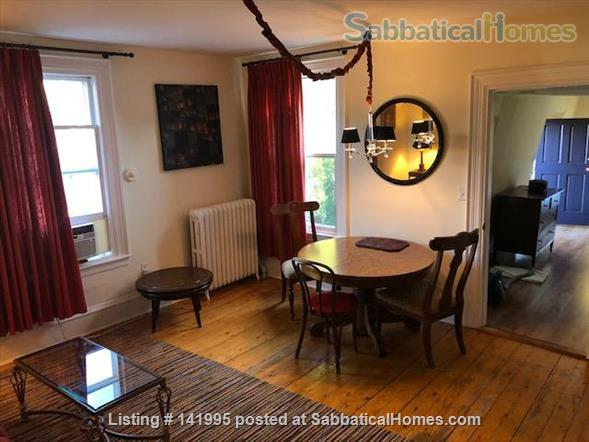 Furnished 2 bedroom 2 bathroom apartment in Victorian duplex Home Rental in Brookline, Massachusetts, United States 4