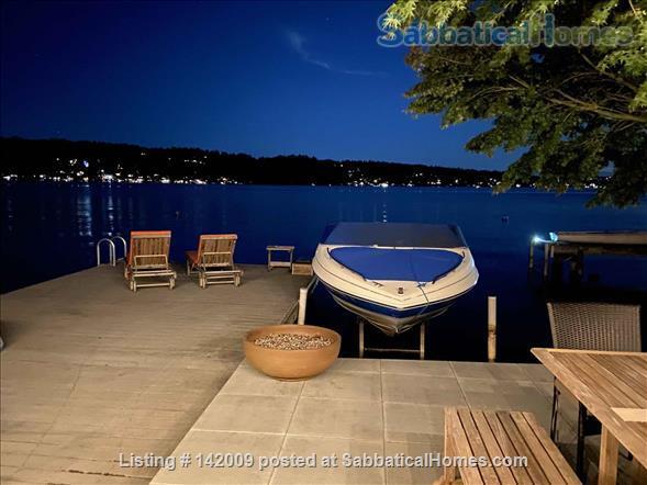 Lake Washington waterfront (in city) Home Rental in Seattle, Washington, United States 2