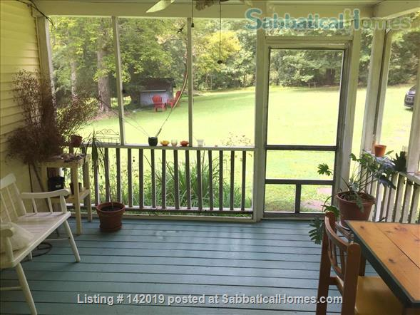 Sweet Sunny Home on  3.5 Acres in Orange County, NC Home Rental in Hillsborough, North Carolina, United States 1